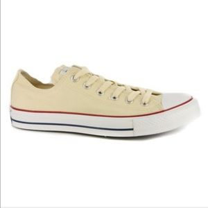 All Star Chuck Taylor Cream Low Sneakers